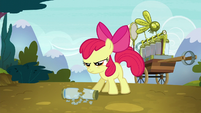 Apple Bloom determined to save Ponyville S5E4
