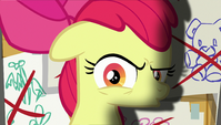 Apple Bloom sarcastically talking to her friends S6E4