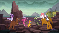 Competition at the Dragon Lands S9E3