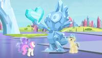 Crystal statue of Spike S4E24