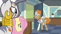 """Dr. Horse """"I'll leave you two to discuss"""" S7E20"""