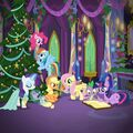 It's a Pony Kind of Christmas Twitter promotional image