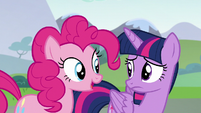 """Pinkie Pie """"he makes another good point"""" S5E22"""