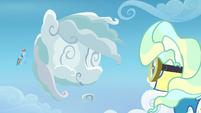 Rainbow makes a cloud shaped like herself S6E24