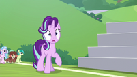 Starlight stunned by Discord's harsh words S8E15