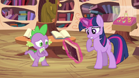 Twilight have to check S3E13