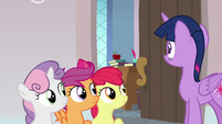 Twilight returning to the classroom S8E12