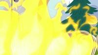 Wagons bursting into flames S8E20