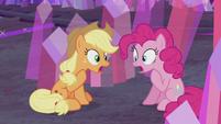 Applejack and Pinkie -so did I!- S5E20