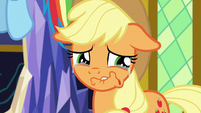 Applejack starting to cry S9E26