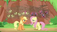 "Fluttershy ""last time they all argued"" S8E23"
