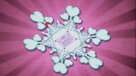 MAFH 09 Zaproszenie do Kryształowego Imperium w kształcie płatka śniegu