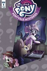 Ponyville Mysteries issue 1 cover A