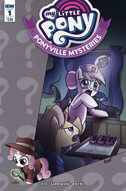 Ponyville Mysteries issue 1 cover A.jpg