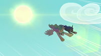 Princesses swoop down at high speed S9E13