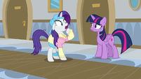 Rarity gasping in shock S8E16