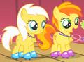 Sunny Daze et Peachy Pie