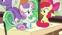 Sweetie Belle -part bird, part pony- S8E6