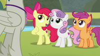 """Apple Bloom """"did you say 'problem'?"""" S8E6"""