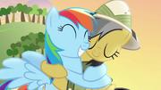 Daring Do hugs Rainbow Dash back S4E04.png