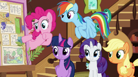 Pinkie Pie -we should call you 'Flutterbold' now!- S7E5