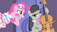 Pinkie Pie Making Song Request To Octavia S1E26