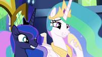 "Princess Celestia ""shampoo anteaters"" S9E13"