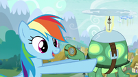 """Rainbow """"That means Ponyville is next up for winter!"""" S5E5"""