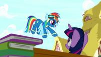 "Rainbow Dash ""second place!"" S8E18"