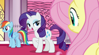 """Rarity """"they must have defeated the villain"""" S7E25"""