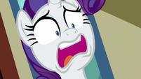 Rarity gasping in deep shock S9E19