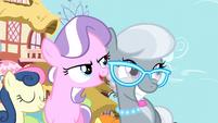Silver Spoon and Diamond Tiara smiling S3E4