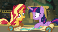 "Sunset Shimmer ""someone is using it"" EGFF"