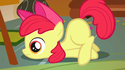 Apple Bloom with no eyelashes S1E12