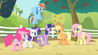 Applejack '...the last time there was an infestation!' S4E07