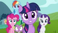 Main characters shocked S3E10