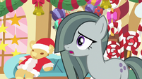 Marble Pie about to say something MLPBGE