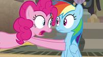 """Pinkie Pie """"I changed my mind!"""" S7E18"""