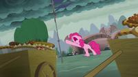 "Pinkie Pie crying ""nooooooo!"" S7E23"