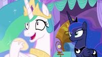 """Princess Celestia """"I crave excitement!"""" S9E13"""