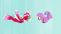 Princess Celestia goes skydiving again S9E13