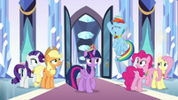 """Rainbow """"wiped the castle with that guy!"""" S9E1"""