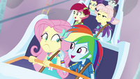 """Rainbow Dash """"you're facing your fears"""" EGROF"""