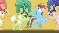 """Rainbow Dash """"you were trapped!"""" S8E5"""