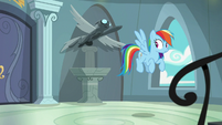 Rainbow Dash notices Fluttershy is gone S9E21