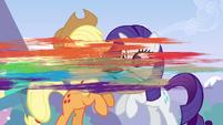 Rainbow snatching her bag S3E7
