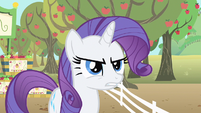 Rarity is angry S1E20