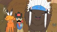 S01E21 Wielkie Serce, szeryf i wódz bizonów zdziwieni występem Pinkie