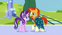 """Sunburst """"like I'd ever lose touch with my oldest friend"""" S6E2"""