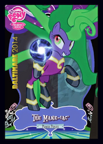The Mane-iac exclusive trading card